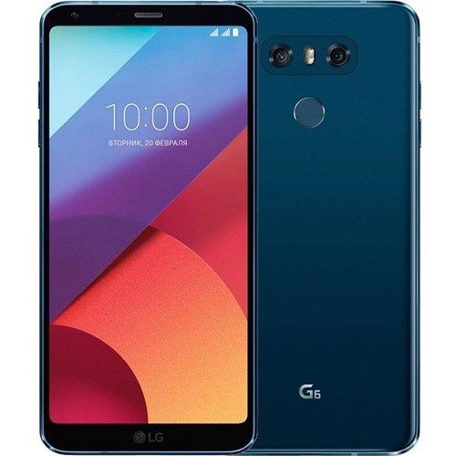 LG H870DS G6 Moroccan Blue